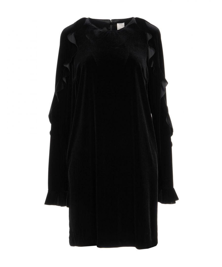 Image for Pinko Black Ruffle Dress