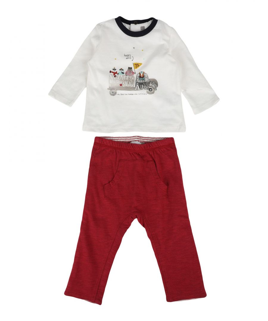 Image for BODYSUITS & SETS Catimini Ivory Boy Cotton