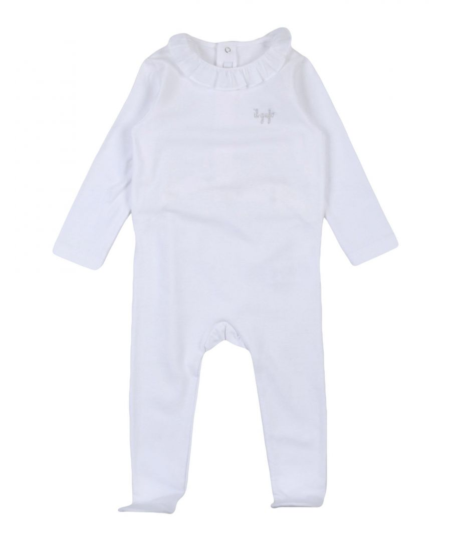 Image for BODYSUITS & SETS Girl Il Gufo White Cotton