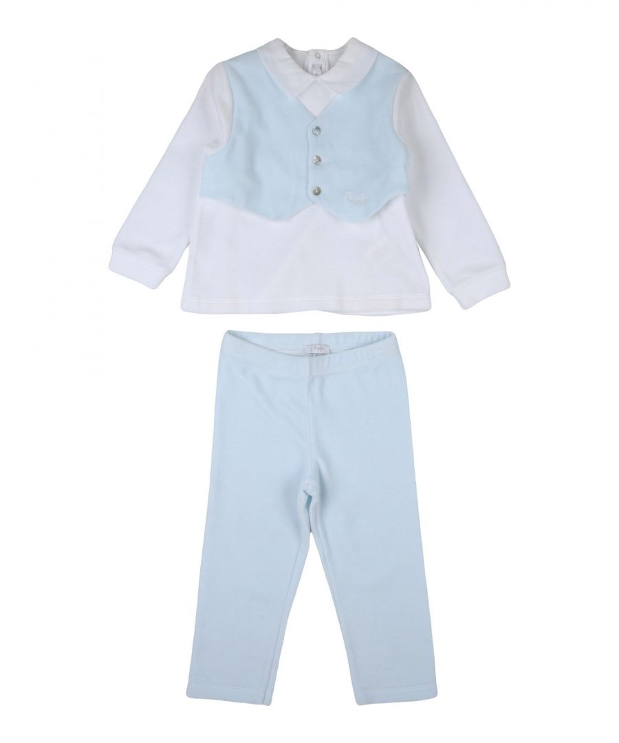 Image for BODYSUITS & SETS Boy Il Gufo Sky blue Cotton