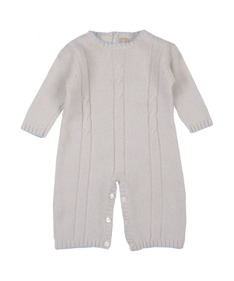 Image for BODYSUITS & SETS Boy La Stupenderia Light grey Virgin Wool