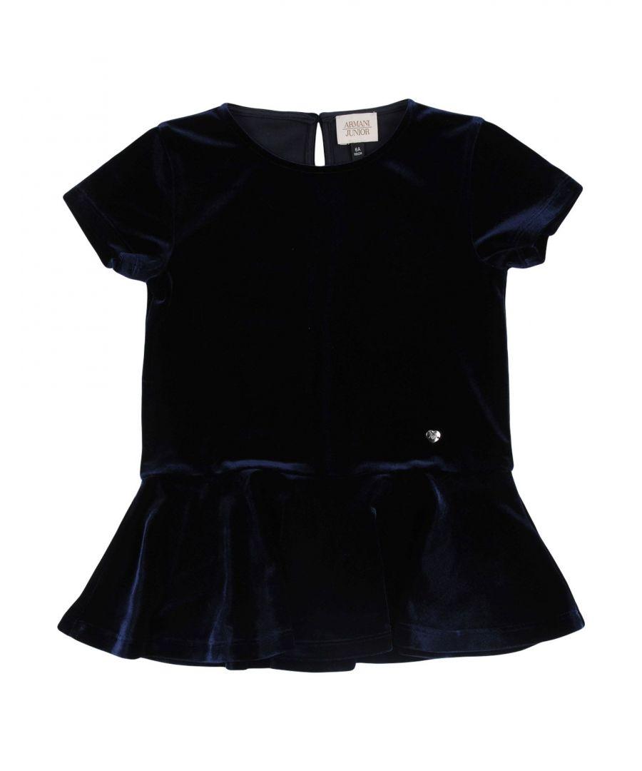 Image for DRESSES Girl Armani Junior Dark blue Polyester