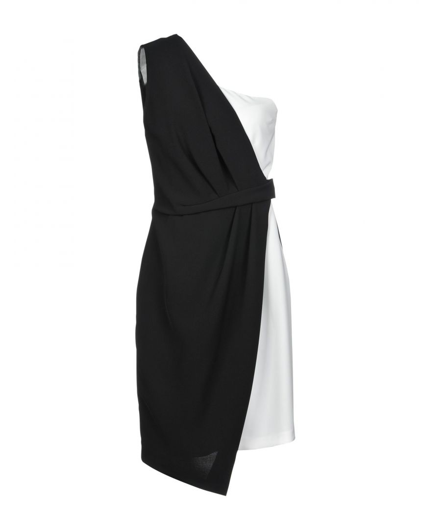 Image for Kaos Monochrome One Shoulder Dress