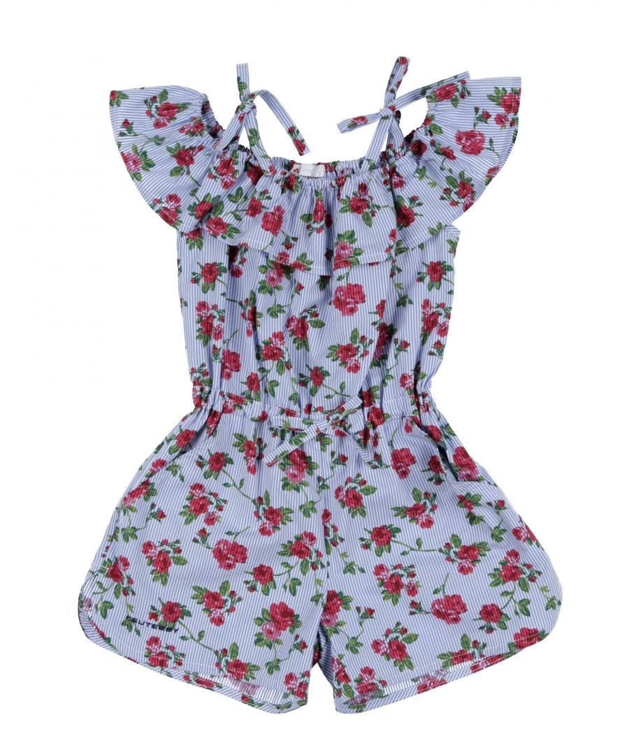 Image for BODYSUITS & SETS Girl Peuterey Blue Cotton