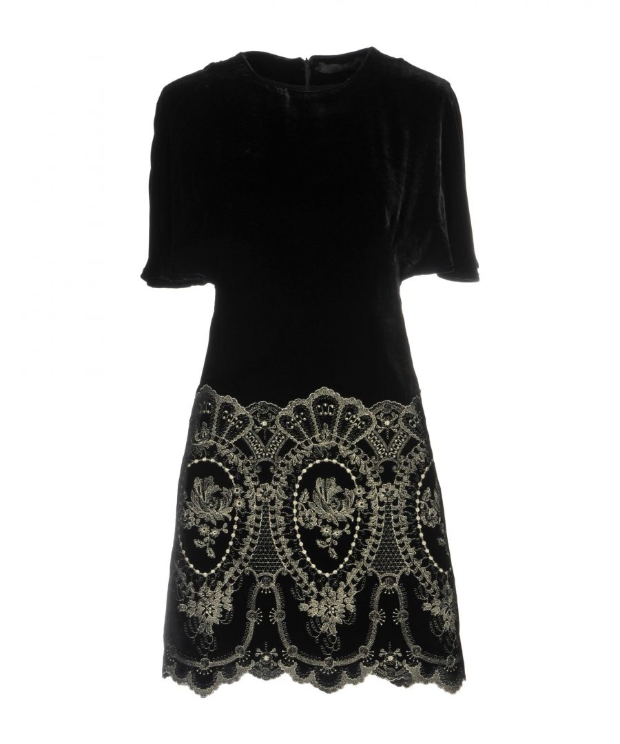 Image for Plein Sud Black Short Sleeve Dress