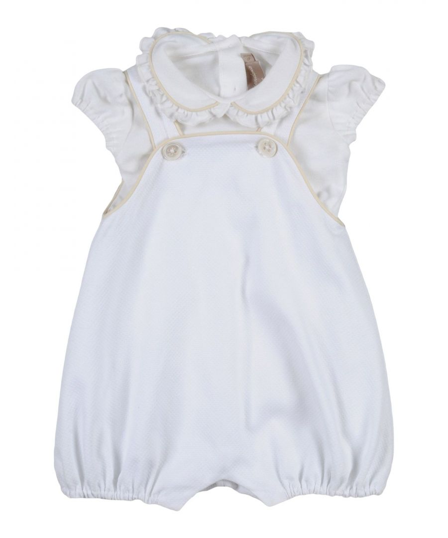 Image for BODYSUITS & SETS Girl La Stupenderia White Cotton