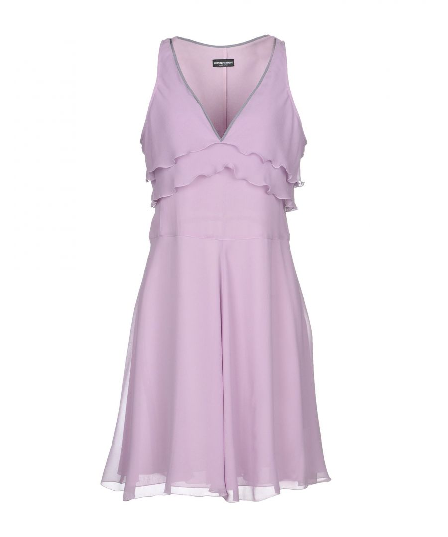 Image for Emporio Armani Light Purple Silk Dress