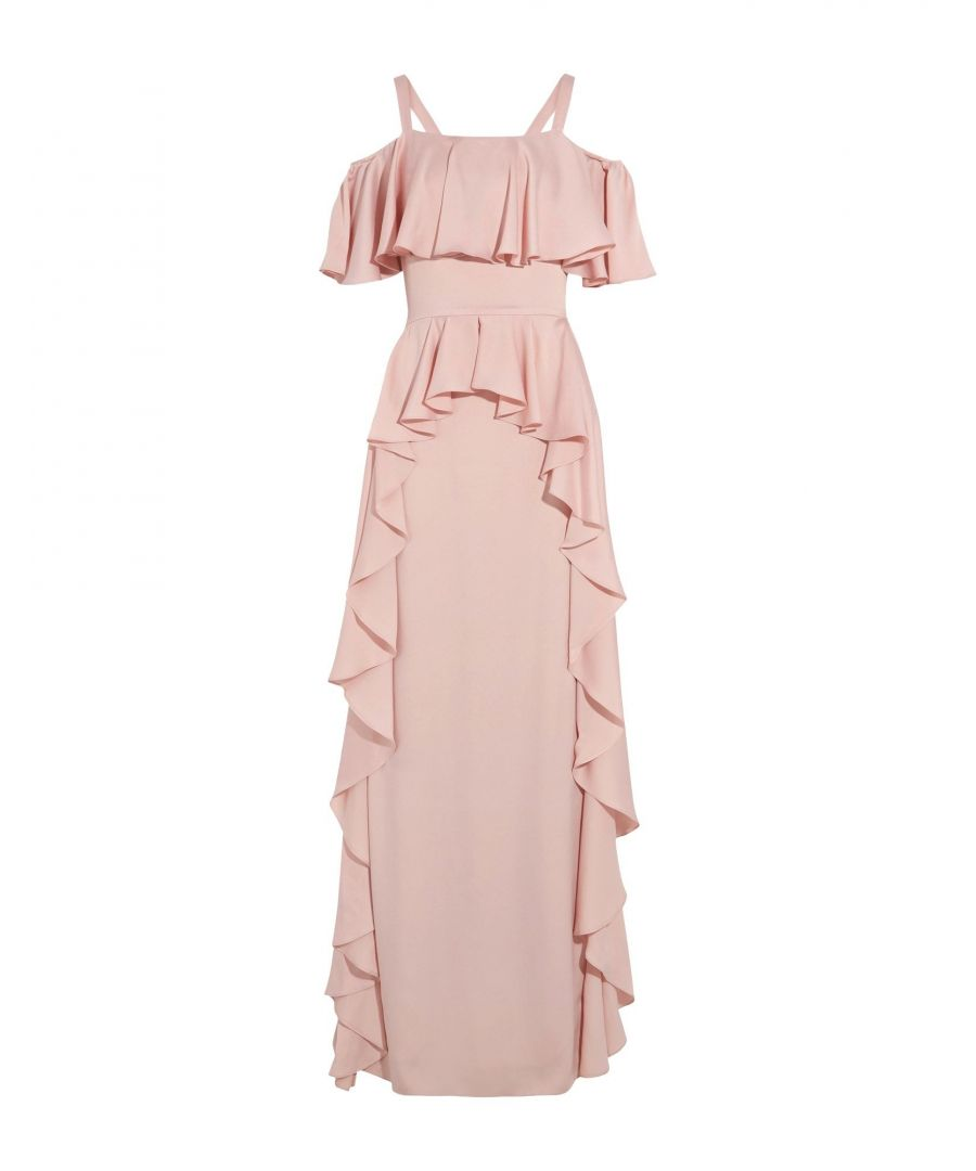 Image for Temperley London Pink Full Length Dress
