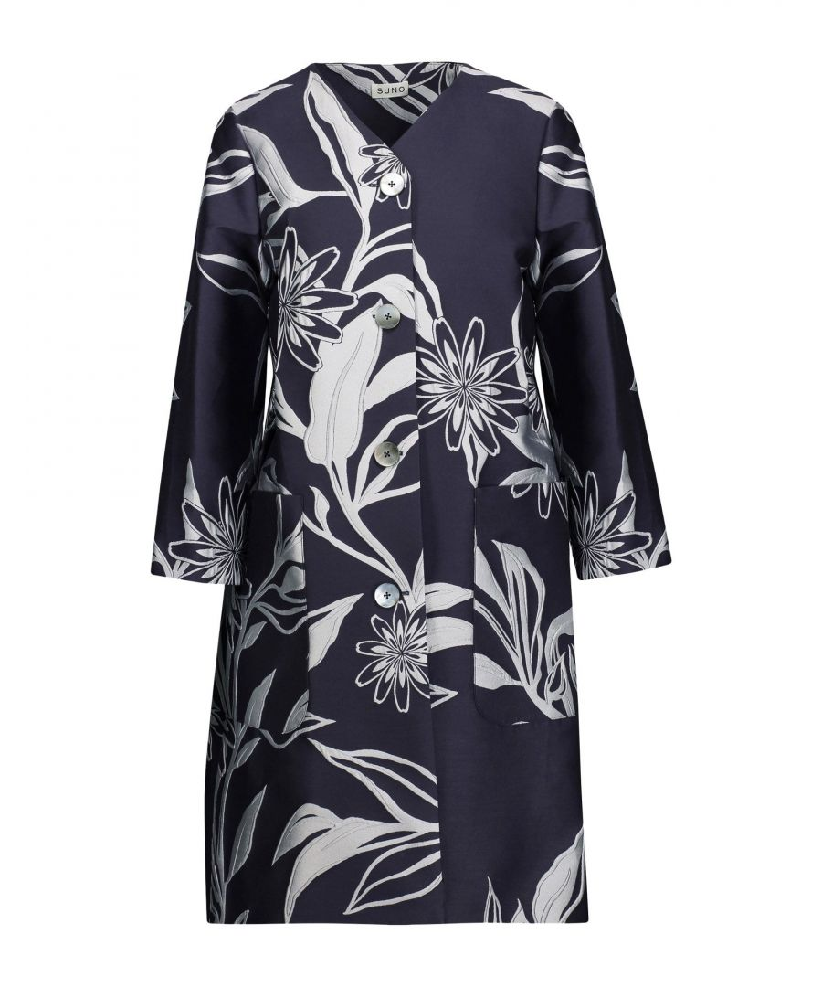 Image for COATS & JACKETS Suno Dark blue Woman Polyester