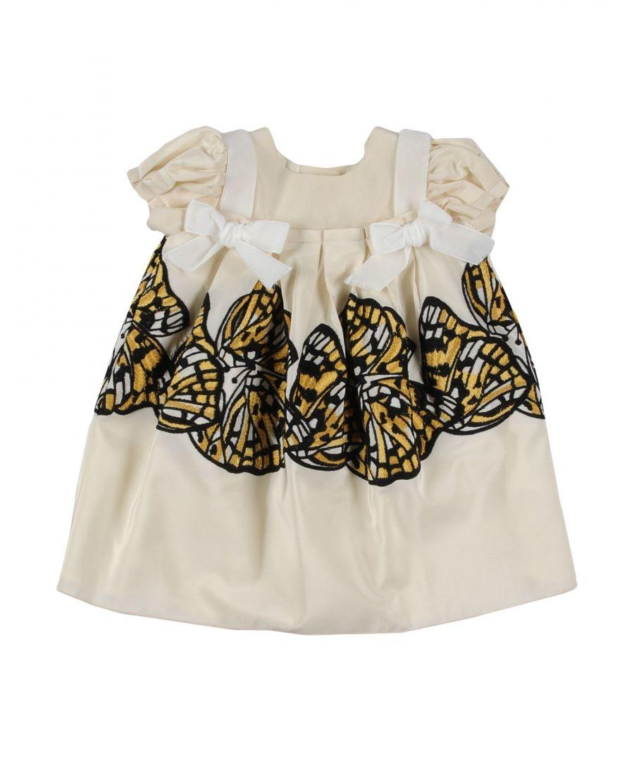 Image for I Pinco Pallino Ivory Girl Dress