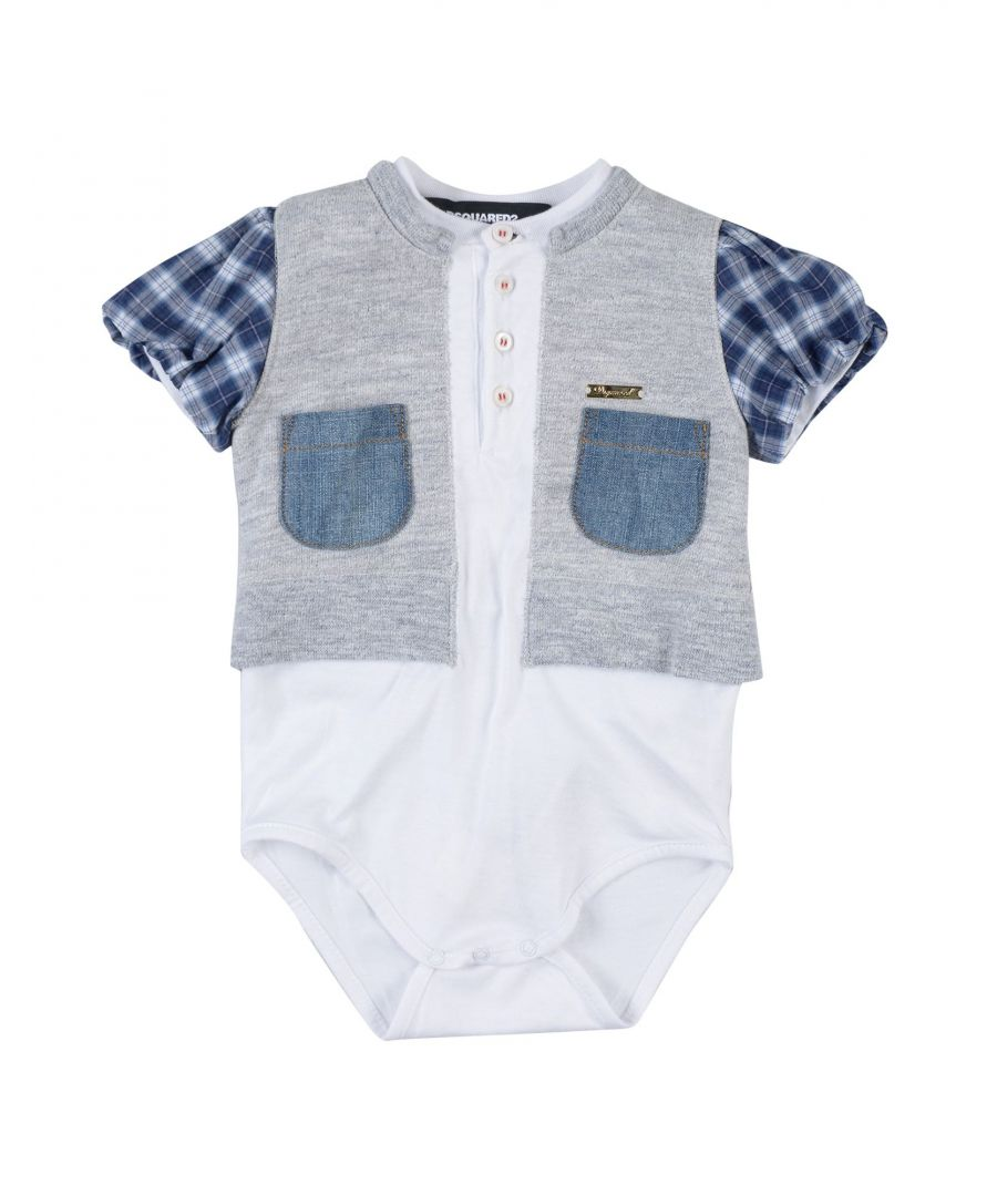 Image for BODYSUITS & SETS Girl Dsquared2 Grey Cotton
