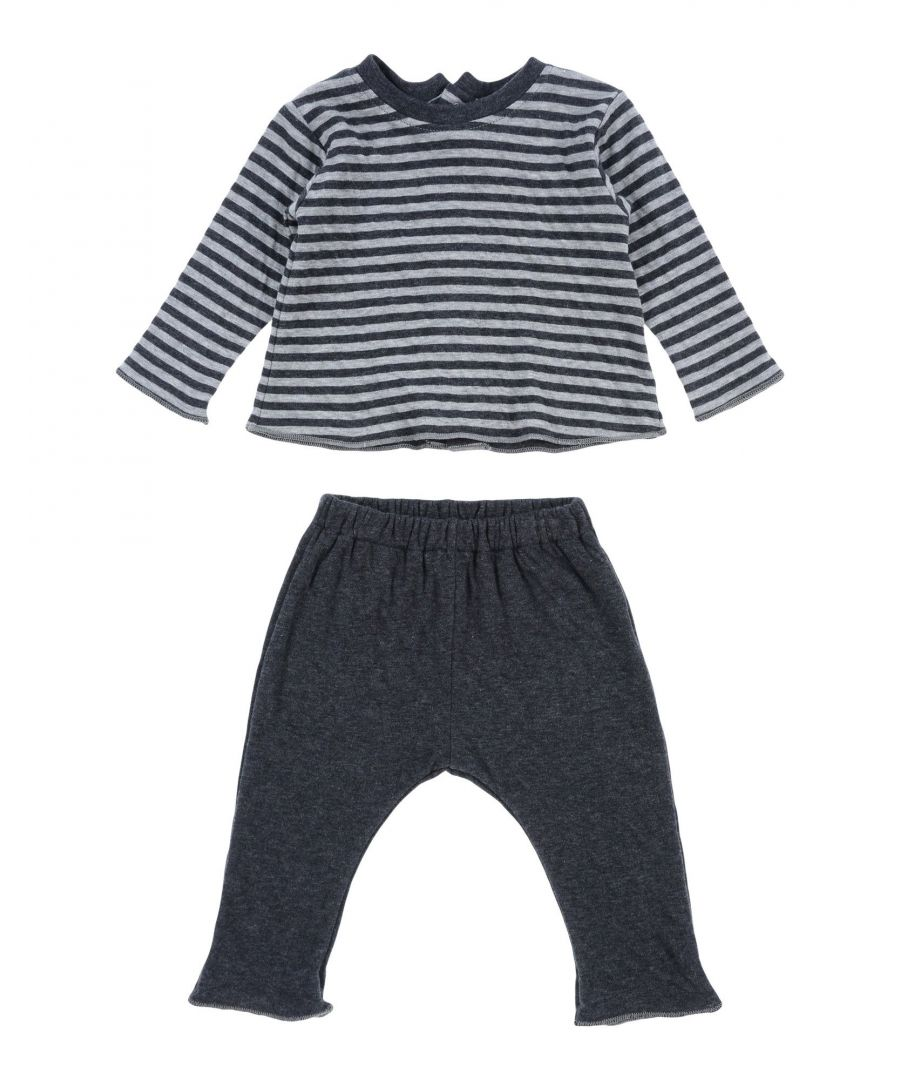 Image for BODYSUITS & SETS Boy Aletta Steel grey Cotton