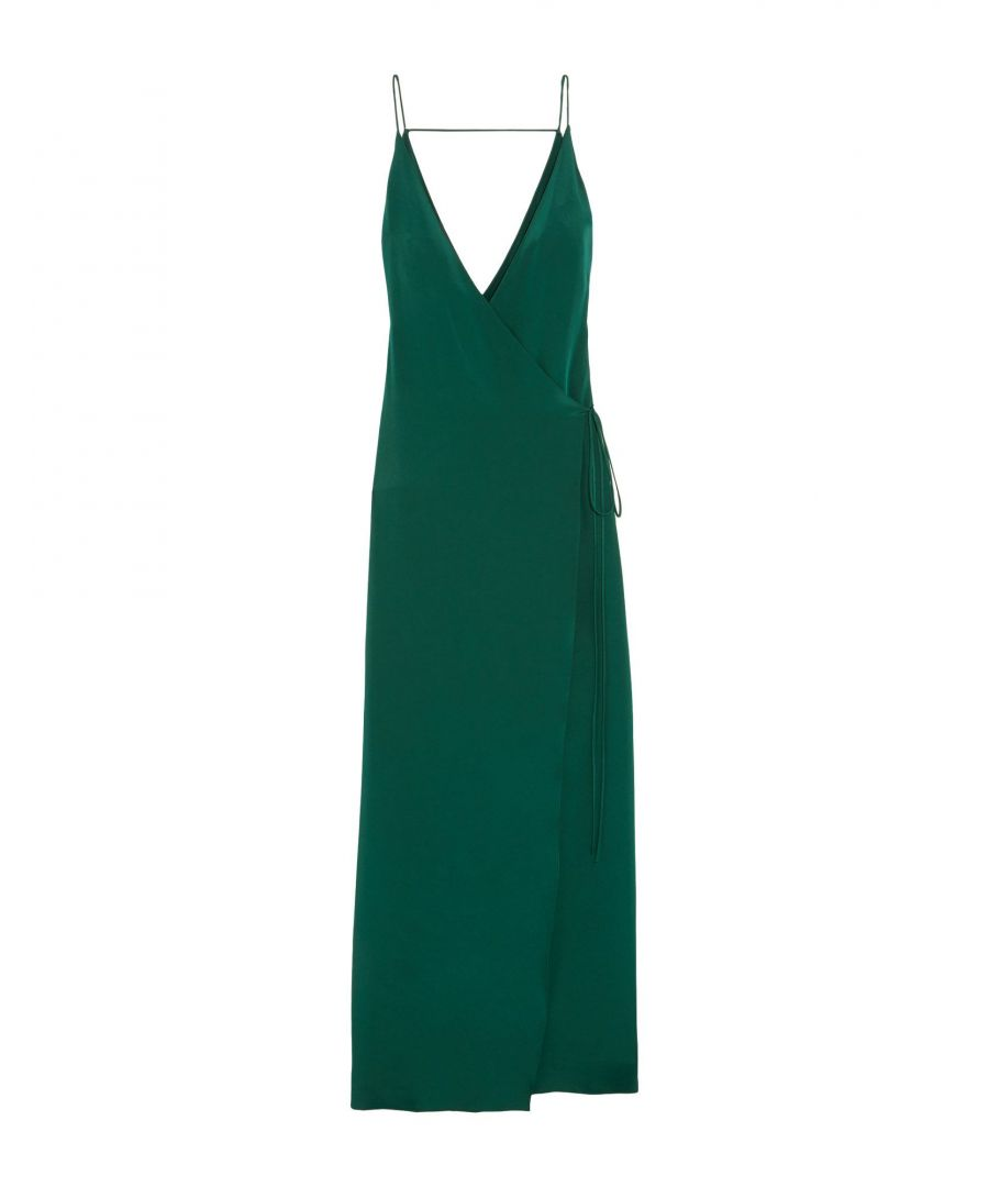 Image for DRESSES Juan Carlos Obando Green Woman Silk