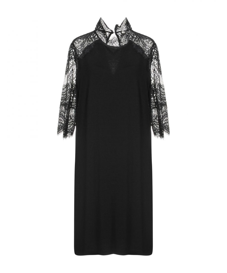 Image for Twinset Black Lace Dress