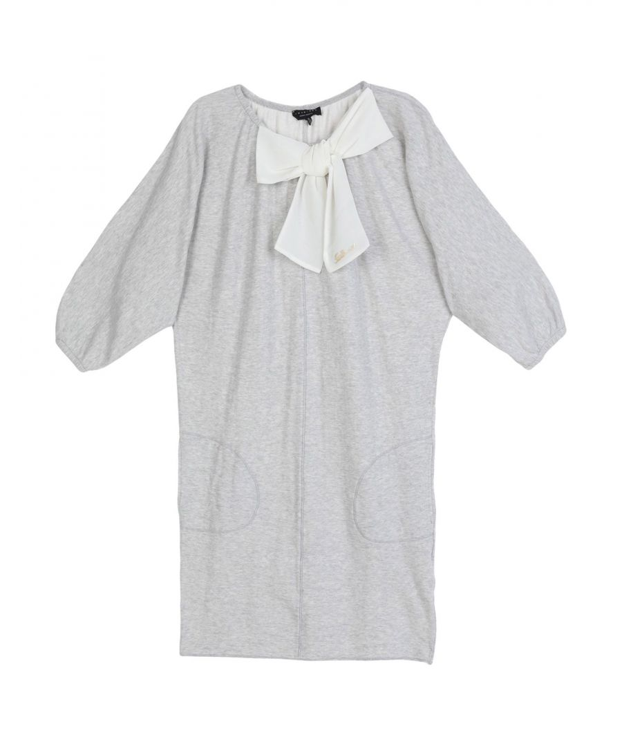 Image for DRESSES Twinset Light grey Girl Cotton