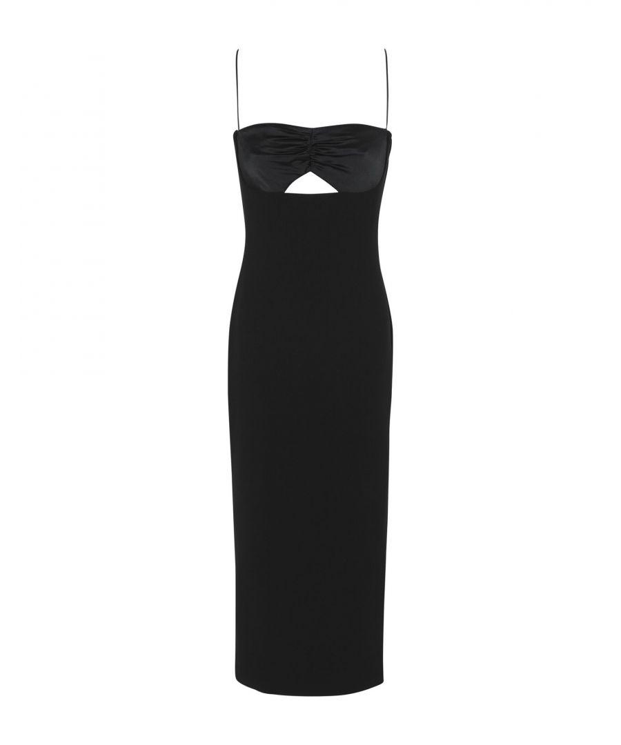 Image for Bec & Bridge Black Crepe Slip Dress