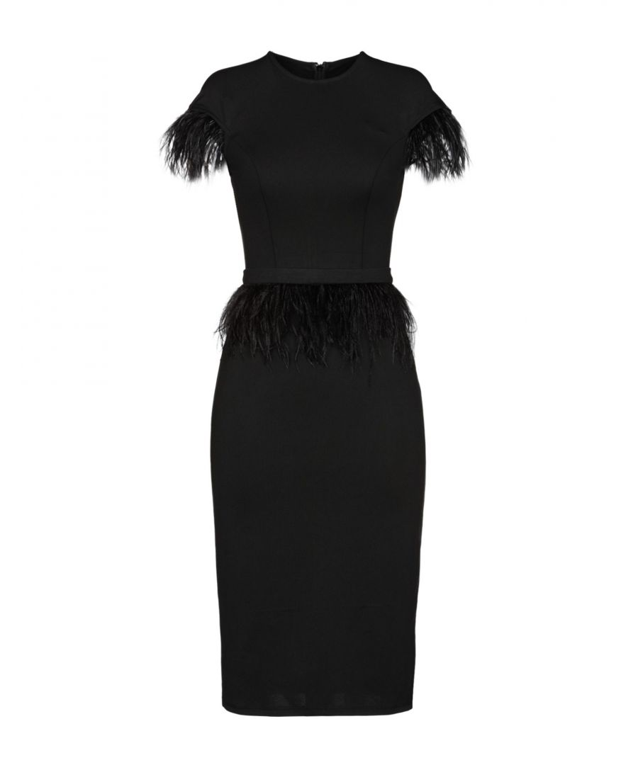 Image for Isabel Garcia Black Pencil Length Dress