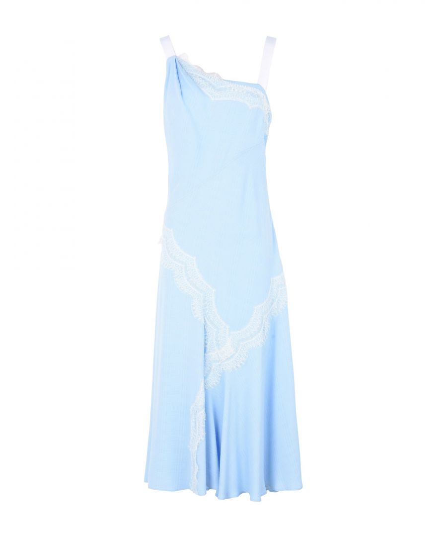 Image for DRESSES Prabal Gurung Sky blue Woman Viscose