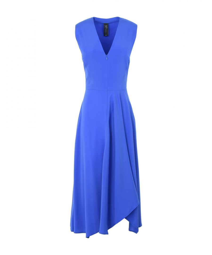 Image for Zero + Maria Cornejo Bright Blue Silk Dress