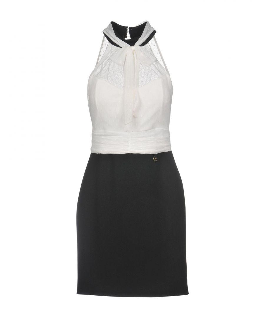 Image for Mangano Monochrome Lace Short Dress