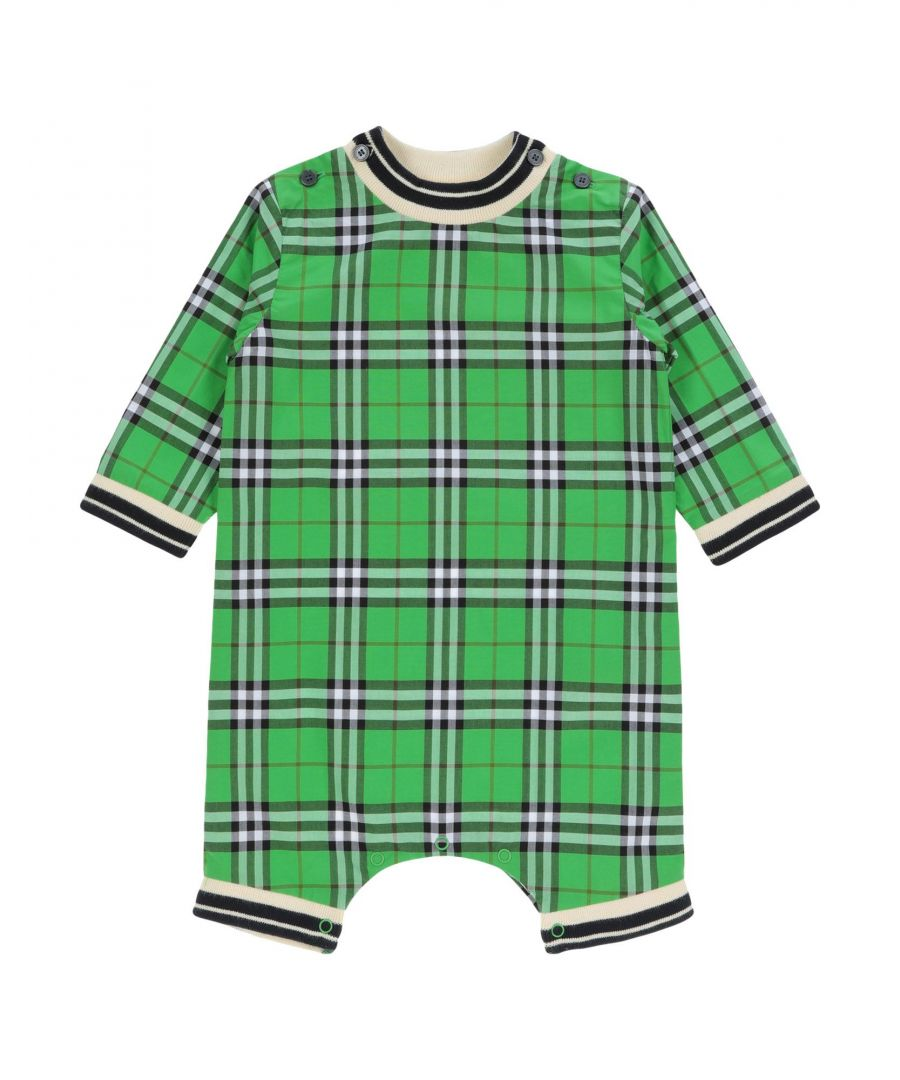 Image for BODYSUITS & SETS Unisex Burberry Green Cotton