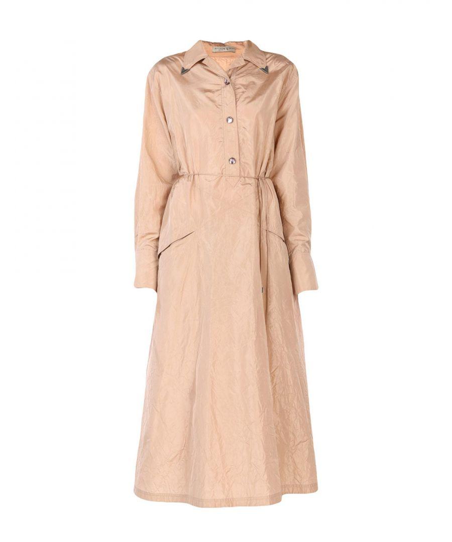 Image for Dress Women's Bottega Veneta Pale Pink Silk