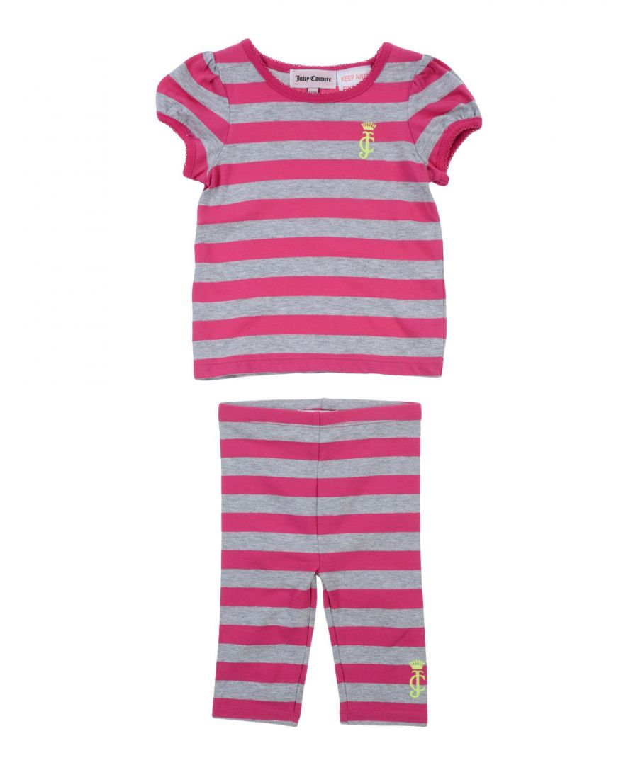 Image for BODYSUITS & SETS Girl Juicy Couture Fuchsia Cotton
