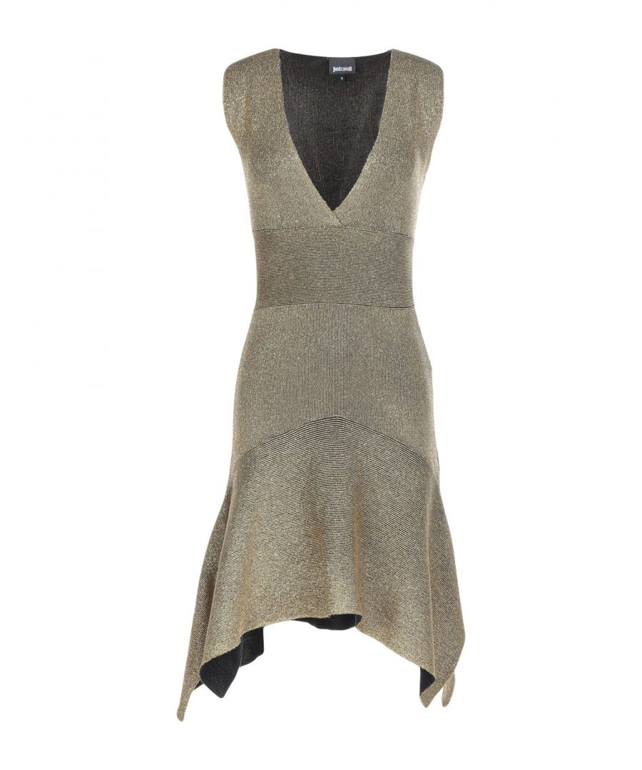 Image for Just Cavalli Gold Short Dress