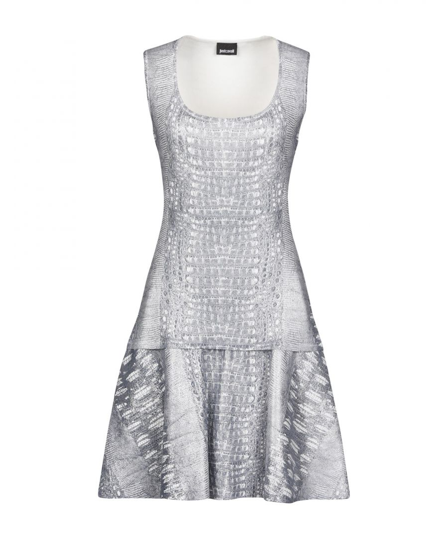 Image for Just Cavalli Light Grey Short Dress