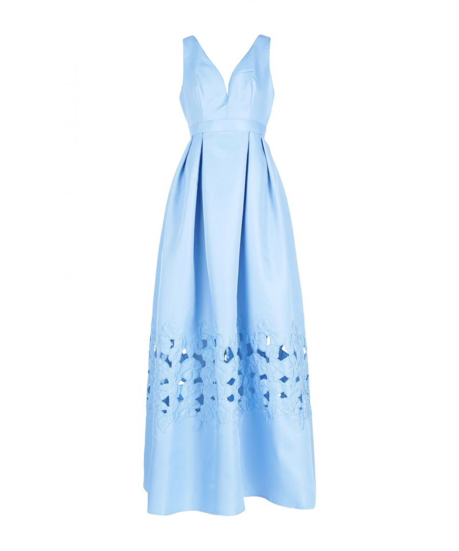 Image for By Malina Sky Blue Full Length Dress