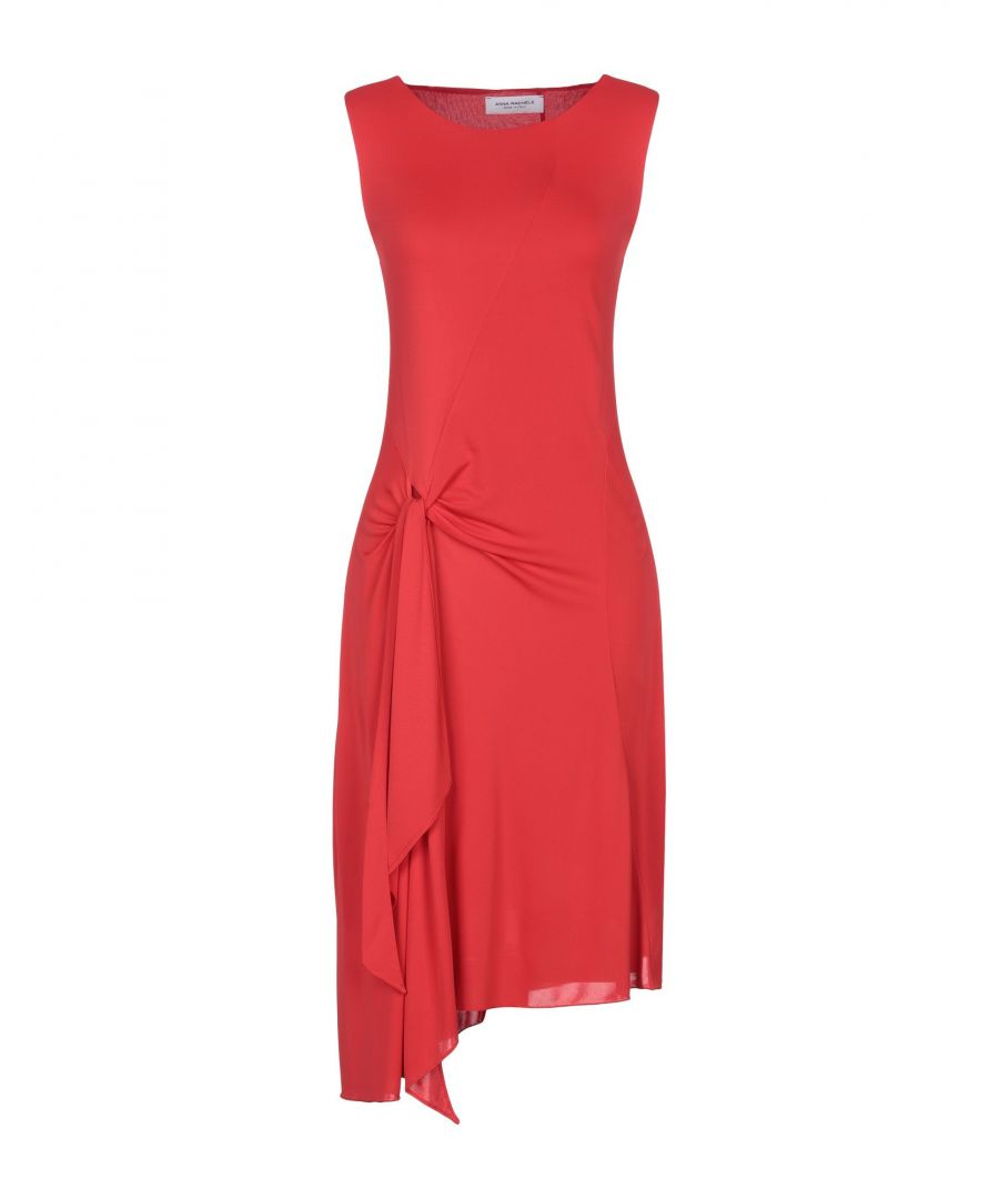 Image for Anna Rachele Red Draped Dress