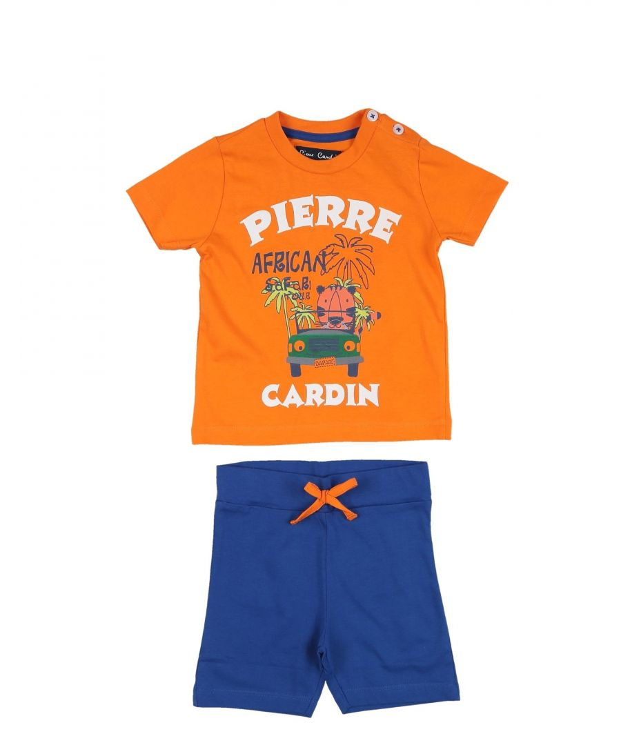 Image for Pierre Cardin Boy Sets Orange Cotton