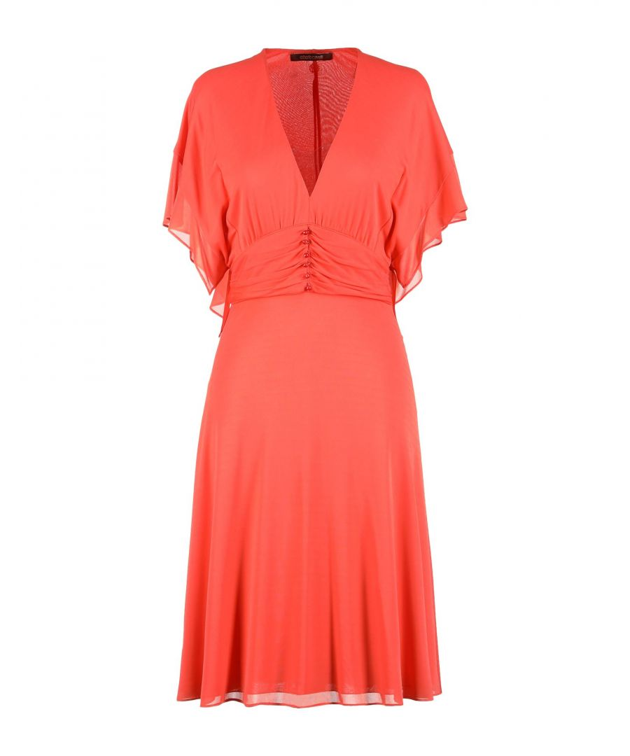 Image for Roberto Cavalli Orange Dress