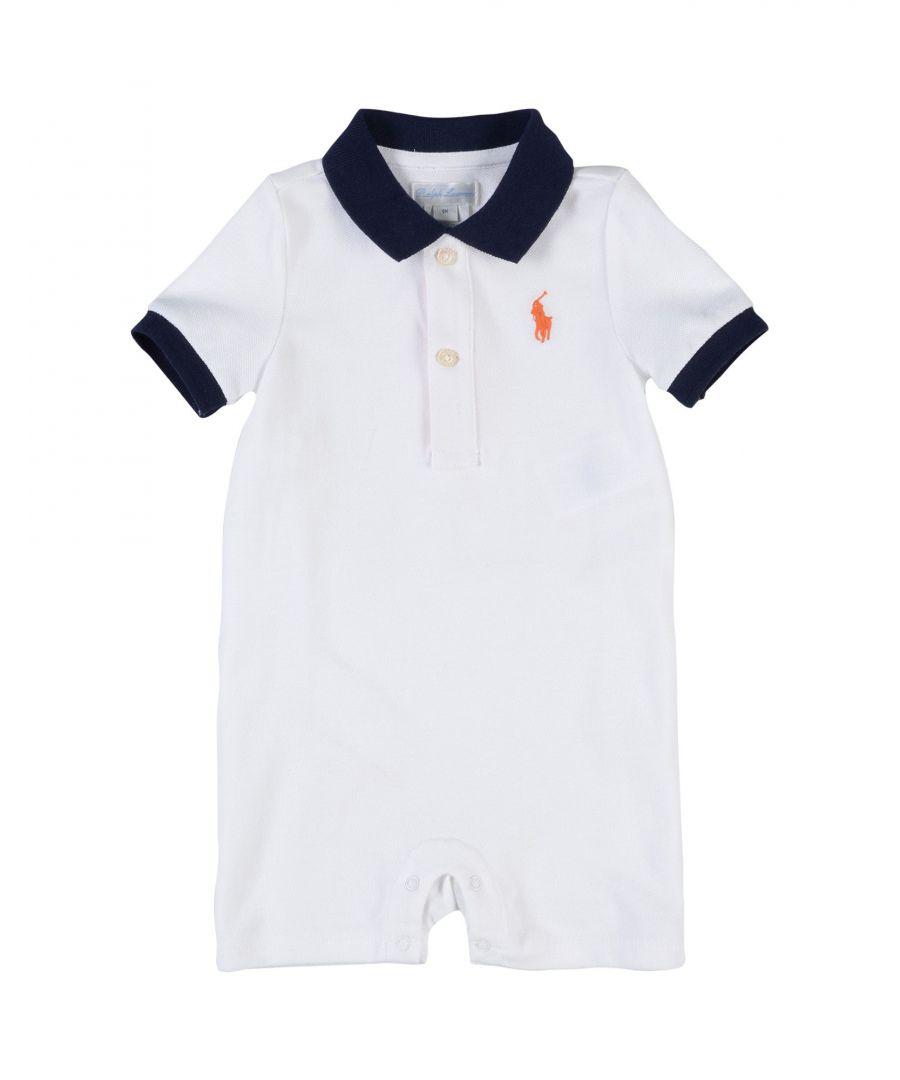 Image for BODYSUITS & SETS Boy Ralph Lauren White Cotton