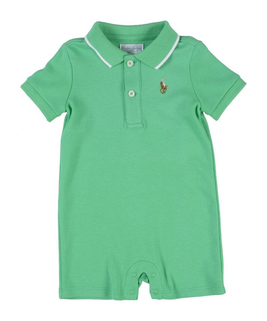 Image for BODYSUITS & SETS Boy Ralph Lauren Green Cotton