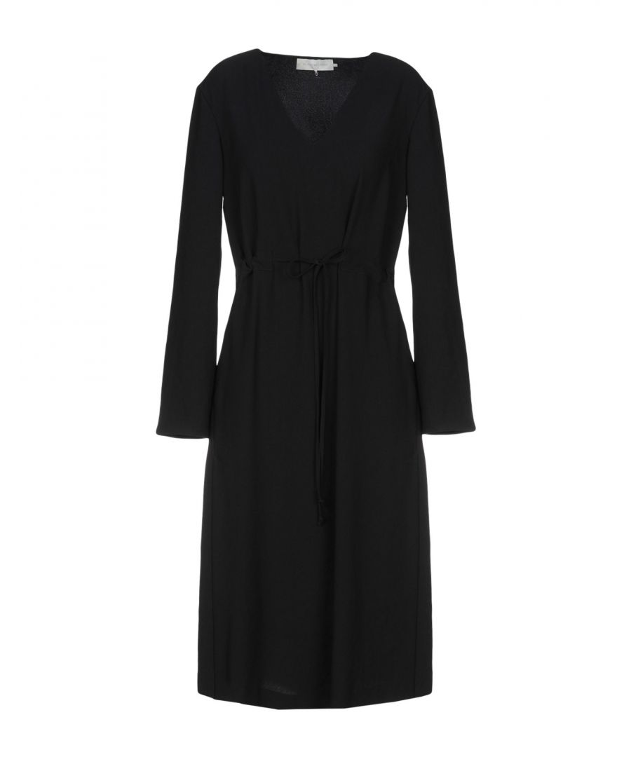 Image for L' Autre Chose Black Long Sleeve Dress