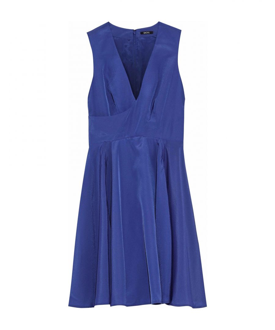Image for Raoul Blue V Neck Dress