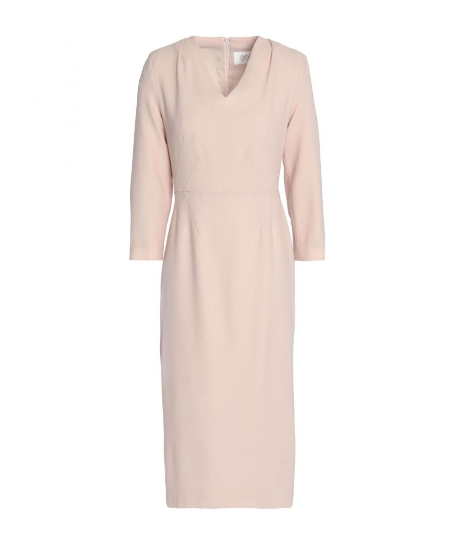 Image for Goat Light Pink Wool Long Sleeve Dress