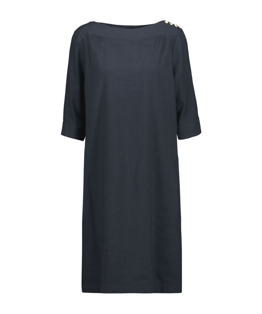 Image for DRESSES A.P.C. Dark blue Woman Cotton