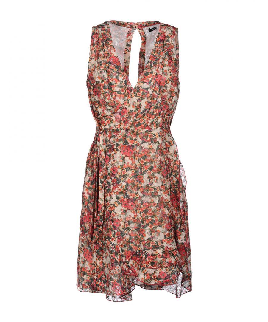 Image for Isabel Marant Beige Floral Print Dress