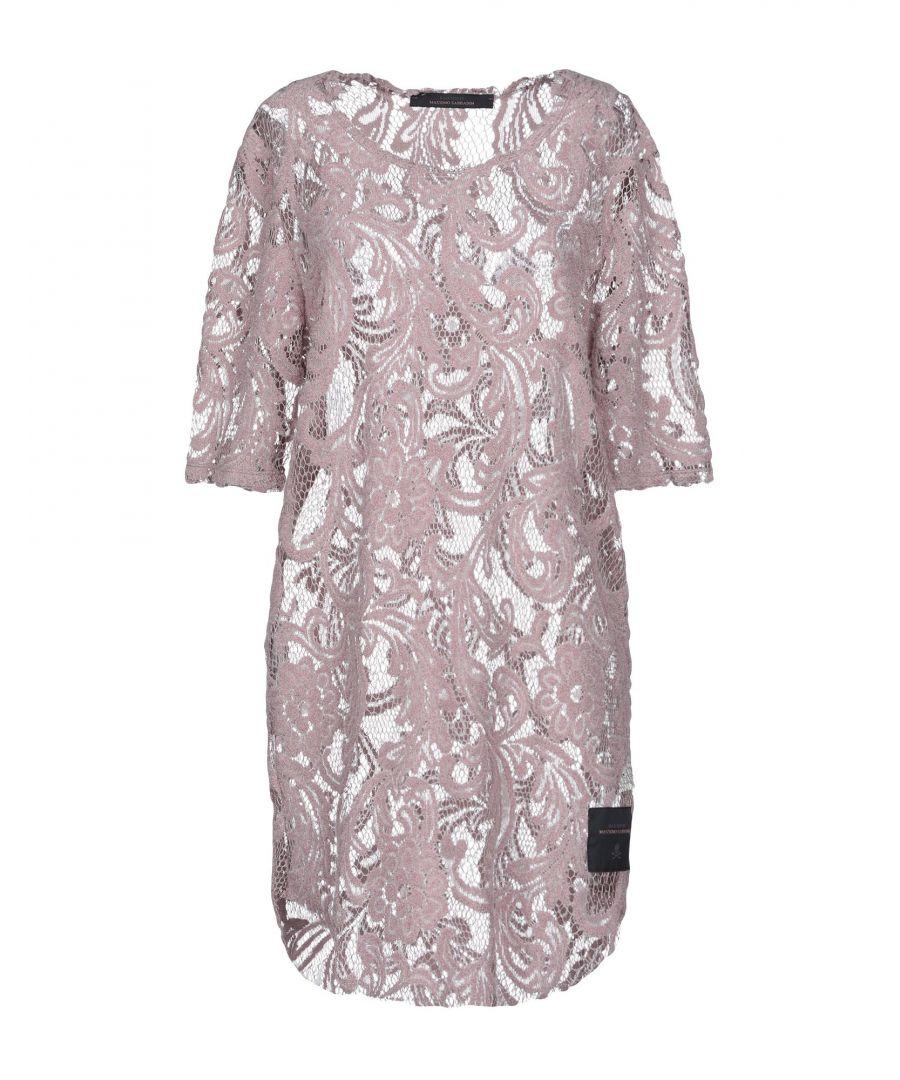 Image for Bad Spirit Pastel Pink Cotton Lace Short Sleeve Dress