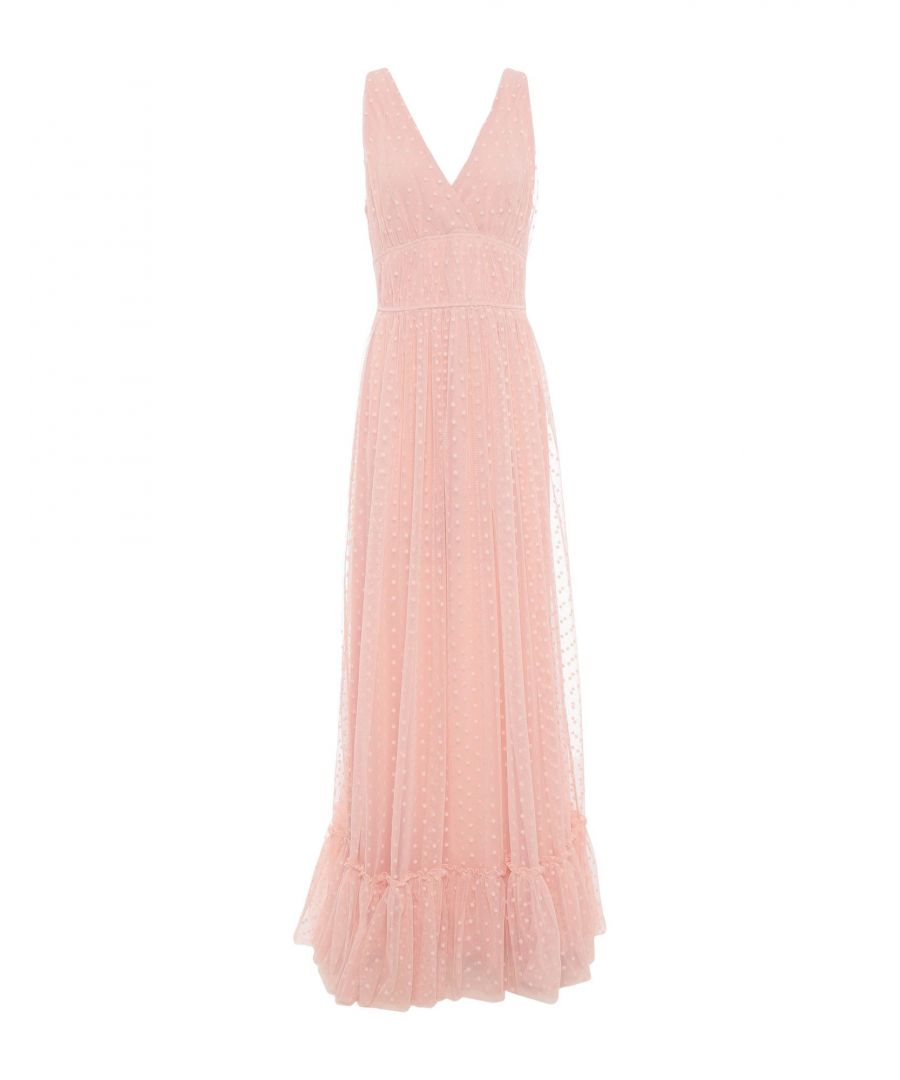 Image for Rue 8Isquit Pale Pink Full Length Dress