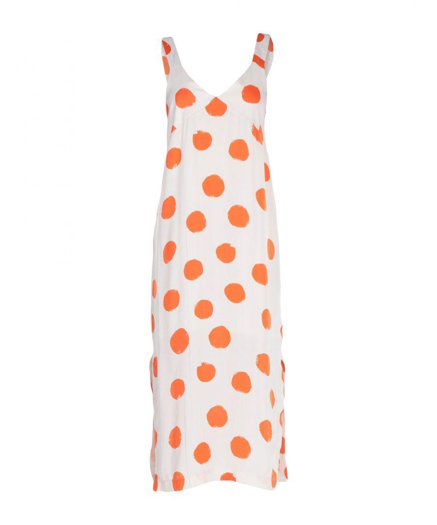 Image for Pepe Jeans White Polka Dot Cotton Dress
