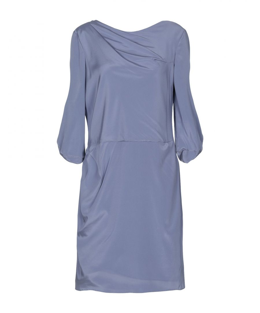 Image for Emporio Armani Lilac Silk Dress