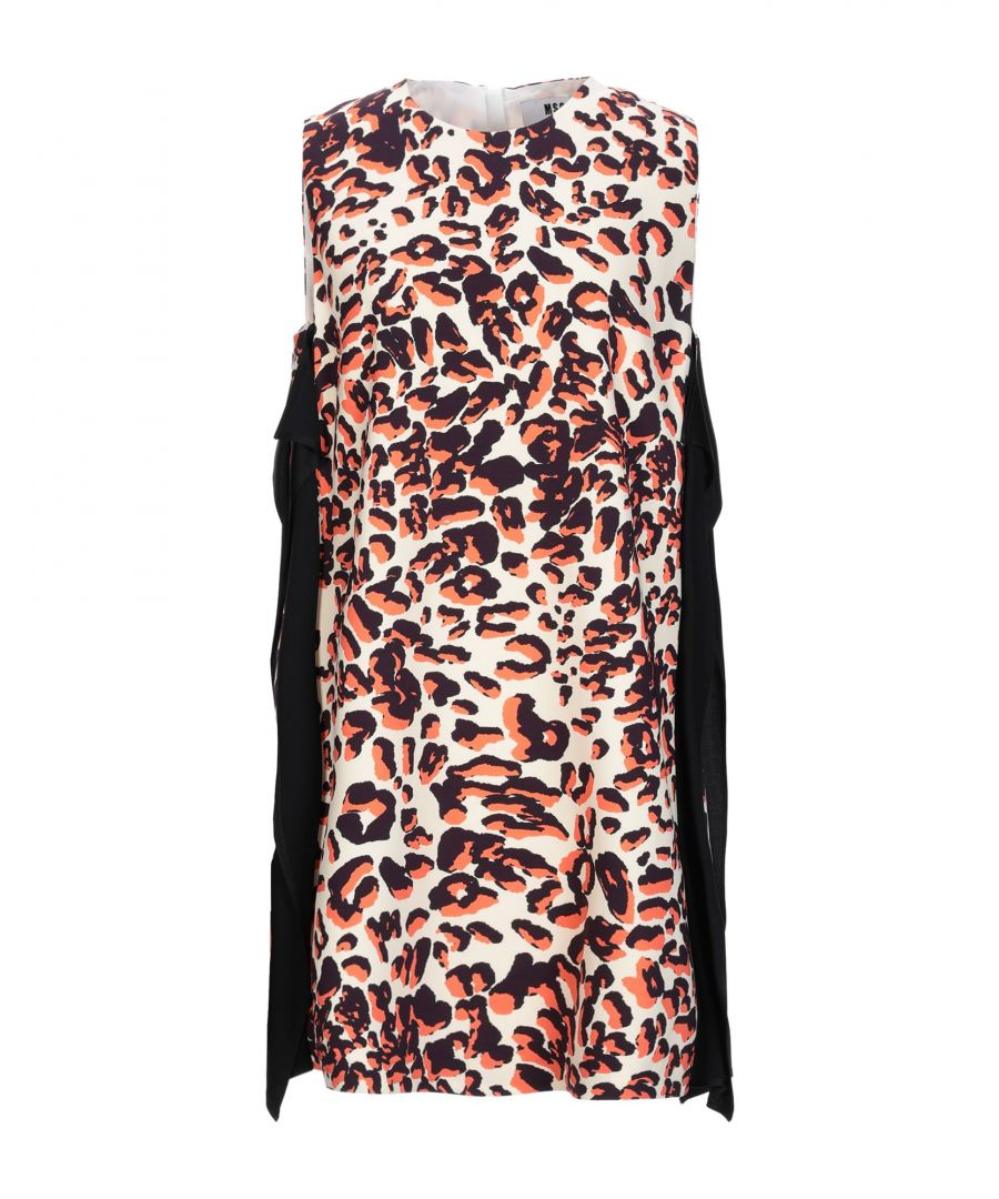 Image for MSGM Beige Print Dress
