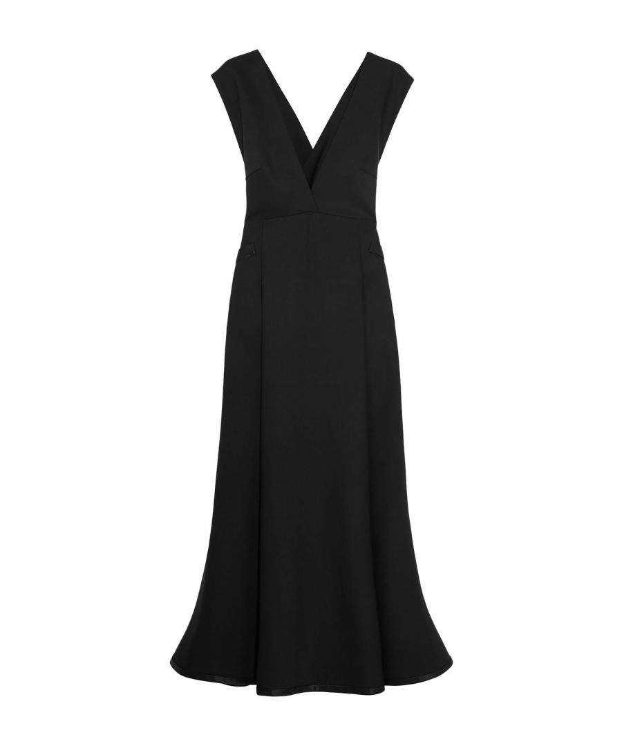 Image for Ellery Black Wool Vestiti longuette