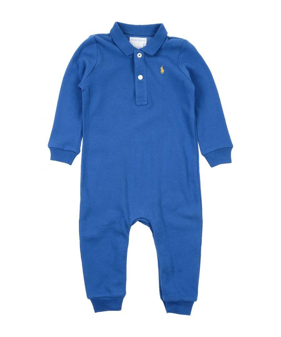 Image for BODYSUITS & SETS Boy Ralph Lauren Blue Cotton