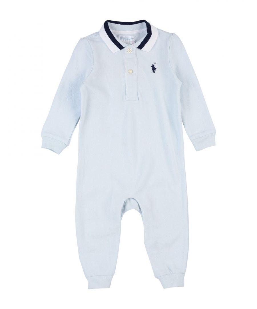 Image for BODYSUITS & SETS Boy Ralph Lauren Sky blue Cotton