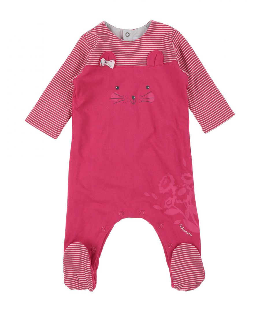 Image for BODYSUITS & SETS Girl Catimini Fuchsia Cotton