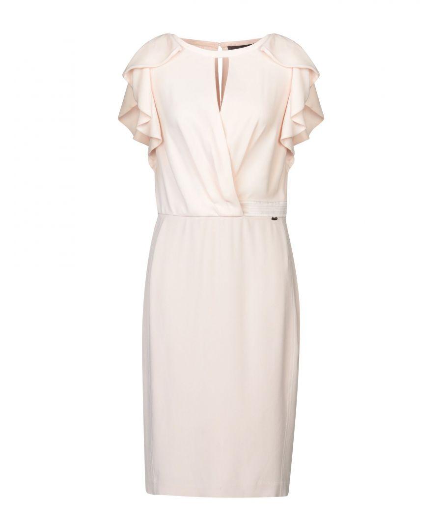 Image for Nenette Light Pink Ruffle Dress